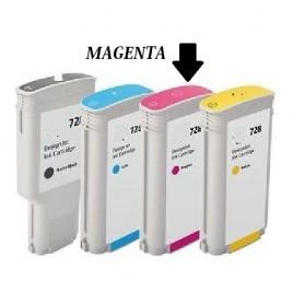 130ml Magente compa Hp Designjet T730 ,T830 728M
