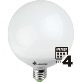 LAMPADA LED GLOBO LAMPADINA 22W 230V E27 6000K LUCE FREDDA 21327 MARINO CRISTAL