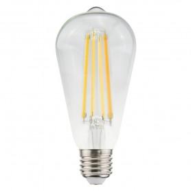 LAMPADA LED ECO ST64 FILOLED 11W E27 2700K 1521LM 21560 MARINO CRISTAL