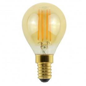 LAMPADA LED ECO SFERA FILOLED GOLD 4,5W E14,G45 2500K 21564 MARINO CRISTAL