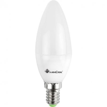 LAMPADINA STD OLIVA LED OPALE 7W 230V E14 2700°K 660 LM MARINO CRISTAL 21436