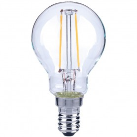 LAMPADINA ECO-GOCCIA FILOLED 4,5W 230V E14 4000°K 470 LM MARINO CRISTAL 21593
