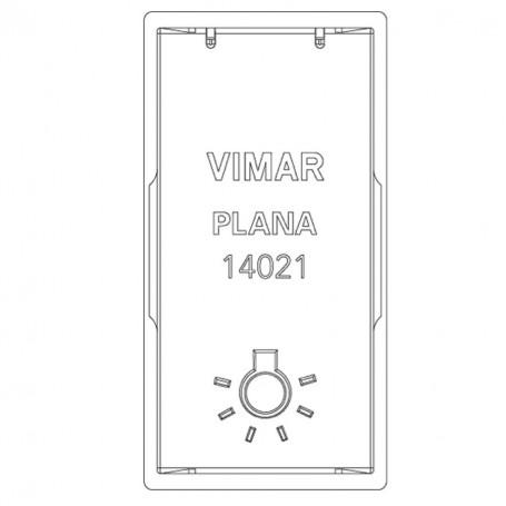 VIMAR TASTO 1M SIMBOLO LUCE VIW14021.L