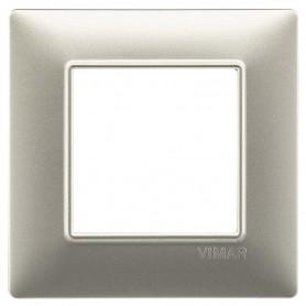 VIMAR PLACCA 2M NICHEL OPACO VIW14642.21