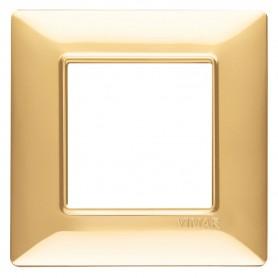 VIMAR Placca 2M oro lucido VIW14642.24