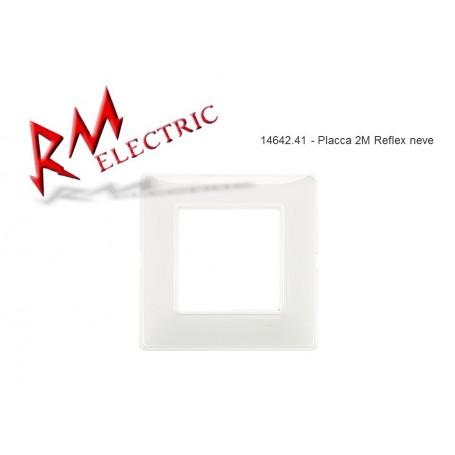 VIMAR PLACCA 2M REFLEX NEVE VIW14642.41