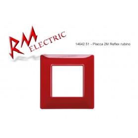 VIMAR PLACCA 2M REFLEX RUBINO VIW14642.51