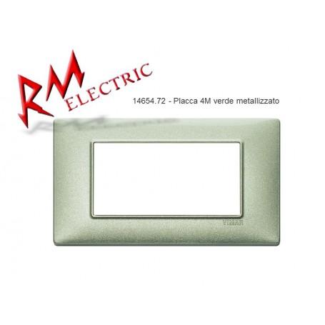 VIMAR PLACCA 4M VERDE METALLIZZATO VIW14654.72