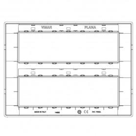 VIMAR Placca 14M bianco VIW14690.01
