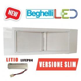 LAMPADA EMERGENZA BEGHELLI LED 1499E 11W COMPLETA DI PILA AL LITIO SLIM BEGHELLI - 1