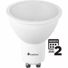 LAMPADA LED DICROICA 5W 230V GU10 6000K MARINO CRISTAL MCA 21317 GARANZIA 2 ANNI