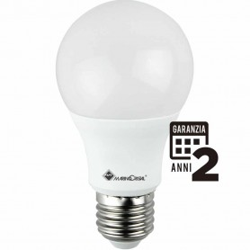 LAMPADA LED GOCCIA LAMPADINA 12W 230V E27 LUCE CALDA 3000K MARINO CRISTAL