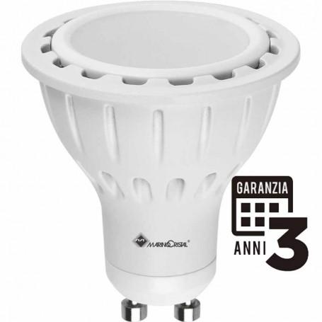 LAMPADA LED DICROICA GU10 7 W LED SAMSUNG 3000K LUCE CALDA MARINO CRISTAL 21086