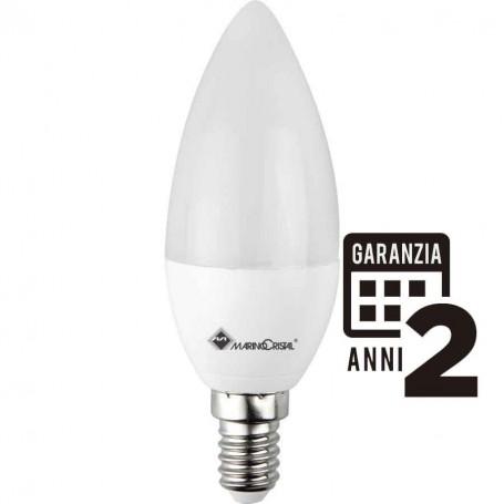 LAMPADA LED OLIVA LAMPADINA 5W 230V E14 LUCE CALDA 3000K 21282 MARINO CRISTAL MARINO CRISTAL - 1