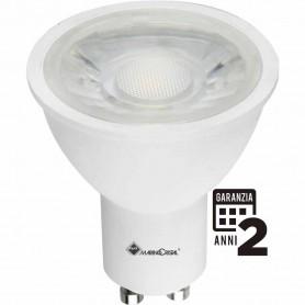 LAMPADA LED GU10 5 WATT DICROICA 230V LUCE NATURA 4000K MARINO CRISTAL 21213