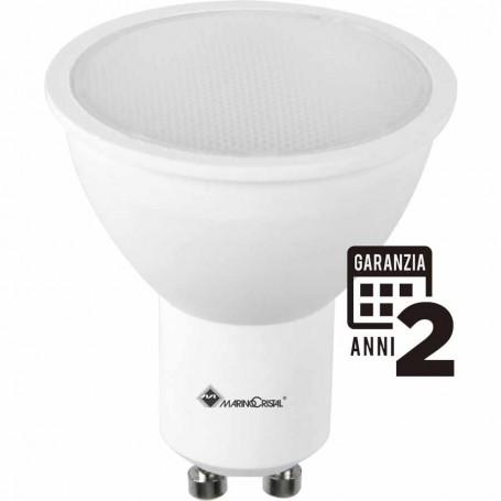 LAMPADA LED DICROICA 5W 230V GU10 3000K LUCE CALDA MCA 21152 MARINO CRISTAL MARINO CRISTAL - 1