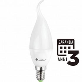 LAMPADINA LED COLPO DI VENTO 5W 230V E14 2700K LUCE CALDA 21287 MARINO CRISTAL