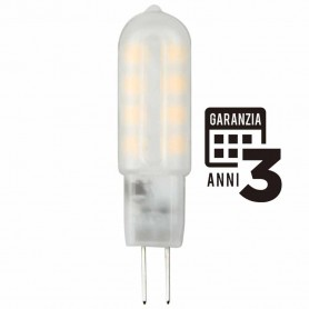 LAMPADA LED BISPINA LAMPADINA 2W 12V G4 3000K LUCE CALDA 21320 MARINO CRISTAL