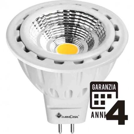 LAMPADA LED DICROICA LAMPADINA 7W GU5,3 12V 3000K LUCE CALDA 21131 MARINO CRISTAL MARINO CRISTAL - 1