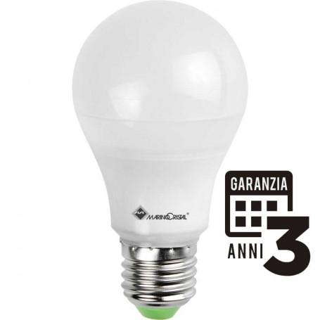 LAMPADA LED GOCCIA LAMPADINA 10W 230V E27 4000K LUCE NATURALE MARINO CRISTAL