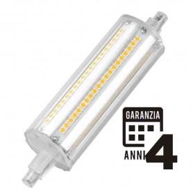 LAMPADA LED LAMPADINA 14W R7S 118MM 4000K LUCE NATURA MARINO CRISTAL