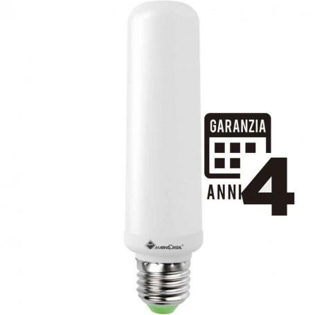 LAMPADINA LAMPADA LED E27 TUBOLARE 21300 MARINO T38 LED pro LUCE NATURA 4000K A+ MARINO CRISTAL - 1