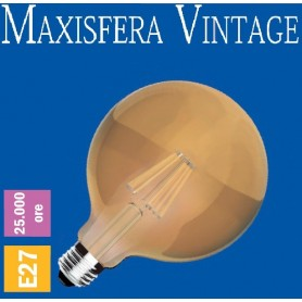 LAMPADA LED VINTAGE Maxisfera Ø125 2200K E27 630 LM A+ IMPERIA 6012147