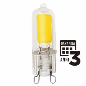 LAMPADA LED VETRO LAMPADINA 2.5W G9 230V 2700K LUCE CALDA MARINO CRISTAL 21478 MARINO CRISTAL - 1