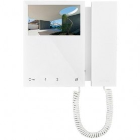 COMELIT MONITOR A COLORI MINI CON CORNETTA BIANCO 6701W 2 FILI SIMPLE BUS TOP
