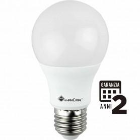 LAMPADINA LED LAMPADA E27 10W 4000K LUCE NATURA 270° GOCCIA 21271 MARINO CRISTAL