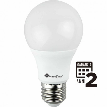 LAMPADINA LED LAMPADA E27 10W 4000K LUCE NATURA 270° GOCCIA 21271 MARINO CRISTAL MARINO CRISTAL - 1