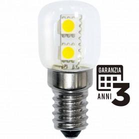 LAMPADA LED NOTTURNA LAMPADINA 1W E14 230V 3000K LUCE CALDA 21021 MARINO CRISTAL