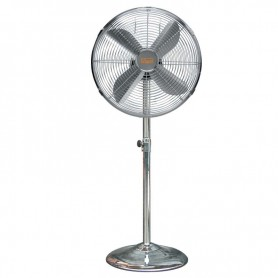 VENTILATORE A PIANTANA IN METALLO CROMATO VINCO 70701 50W DIAMETRO 40