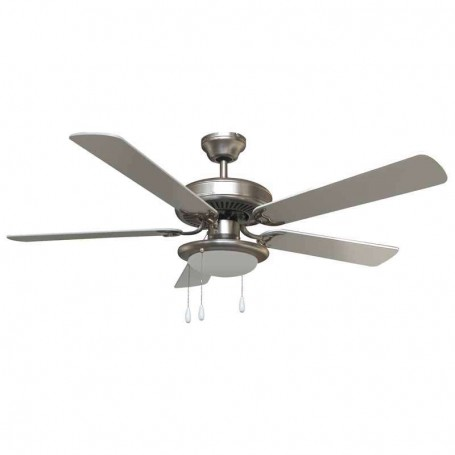 VENTILATORE A SOFFITTO 5 PALE DIAMETRO 132 CM 65 W VINCO 70915 1 LUCE
