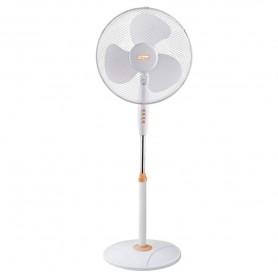 Vinco 70708 Ventilatore a piantana base tonda bianco e arancio 45W 165cm