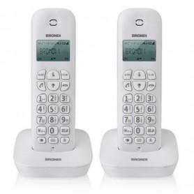 TELEFONO CORDLESS ECO DECT GAP DIGITAL BRONDI GALA TWIN
