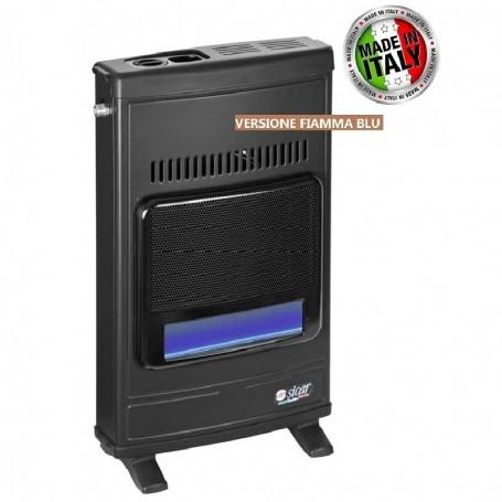STUFA A GAS METANO FIAMMA LIBERA ECO45 BLU FLAME 4100W SICAR GRIGIO SCURO