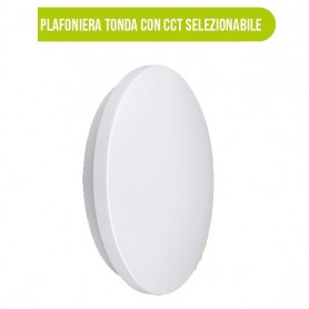 PLAFONIERA LED 24W CIRCOLARE CL1R CCT BIANCO MULTICOLOR BOT LIGHTING 54044