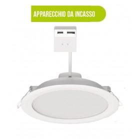 DL4.0-8W FARO INCASSO LED 8W 600LM CMULTICOLOR TONDO BOT LIGHTING 55061 Bot Lighting - 1