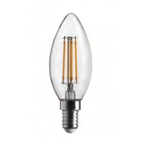 LAMPADA LAMPADINA OLIVA STICK 470LM 4,5W E14 2700K BOT LIGHTING WLD2004X2