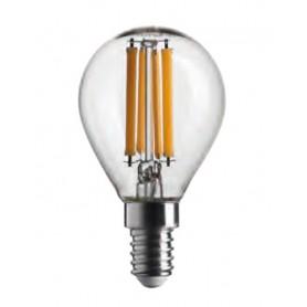 LAMPADA LAMPADINA SFERA STICK 470LM 4,5W E14 4000K DIMMERABILE BOT LIGHTING WLD3004X3D
