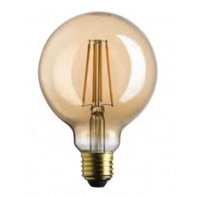 LAMPADA LAMPADINA GLOBO 95 LED STICK GOLD 7W E27 2500K 725LM BOT LIGHTING WLD4208X2G Bot Lighting - 1