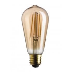 LAMPADINA EDISON LED ATTACCO E27 STICK GOLD 7W 2500K 725LM BOT LIGHTING WLD7508X2G Bot Lighting - 1