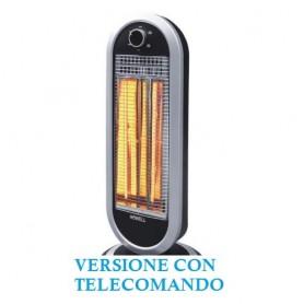 STUFA ELETTRICA OSCILLANTE AL CARBONIO TELECOMANDO TIMER RSC 1216T/R HOWELL