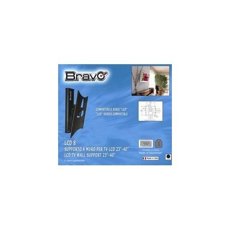 """BRAVO LCD 8 SUPPORTO A MURO PER TV LCD 23"""" - 40"""" NERO Bravo - 1"""