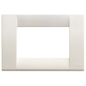 Placca Classica 3 moduli, bianco Idea VIW16743.04