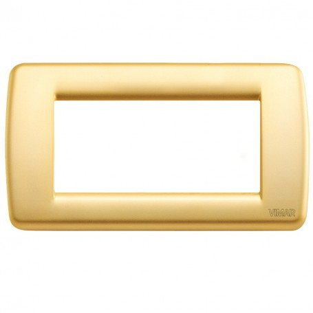 Placca Rondò 4M oro opaco VIW16754.33