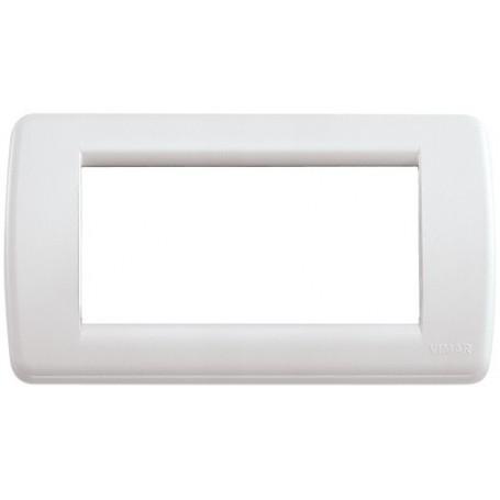Placca Rondò 4M bianco Idea VIW16764.04