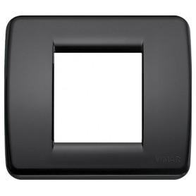 Placca Rondò 1-2M nero VIW17098.16