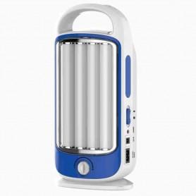 LAMPADA LED ricaricabile con variatore di intensità luminosa e funzione di emergenza CFGEL044